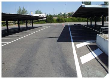 Pinturas urena - Pintura para parking ...